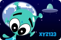 Ufo XYZ123, The Alien